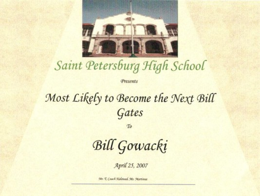 Most Likely to become the next Bill Gates